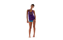 Mons Royale Women Tank Racer Back purple
